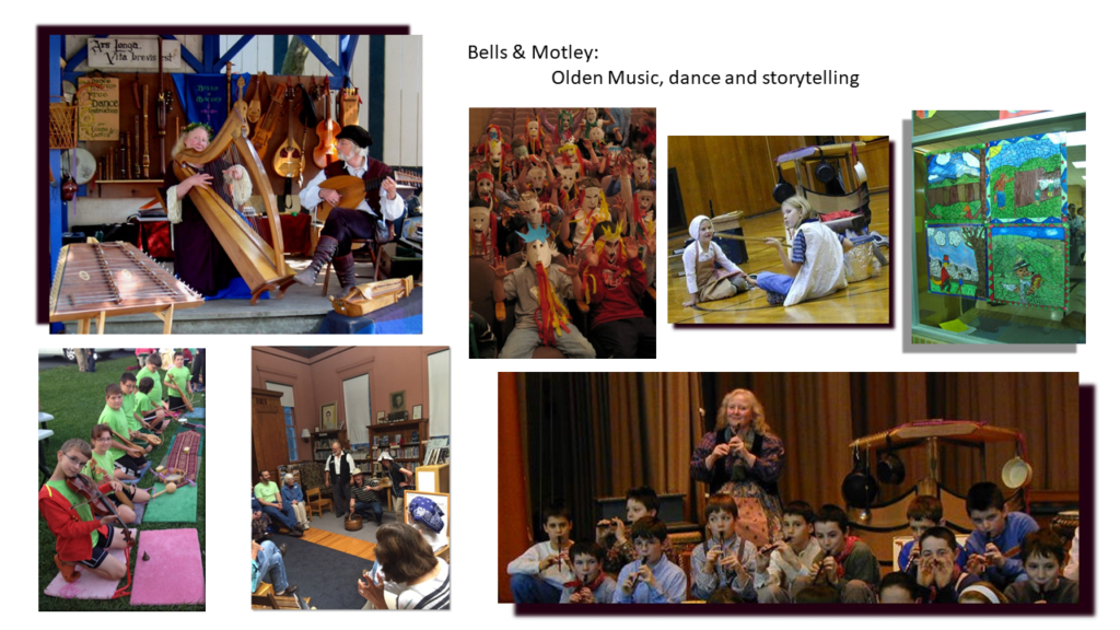 Bells & Motley: Olden Music, dance and storytelling
