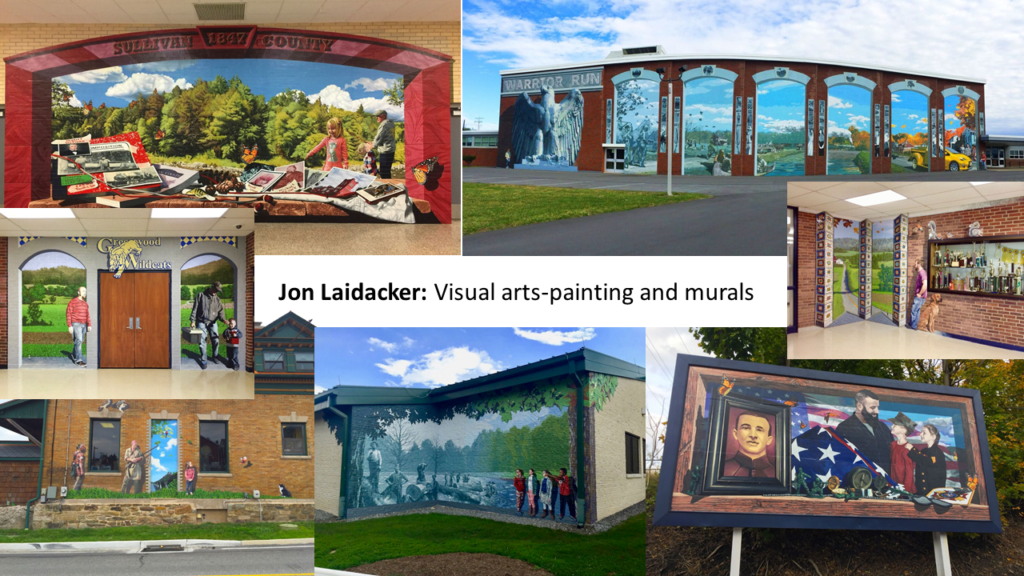 Jon Laidacker: Visual arts-painting and murals