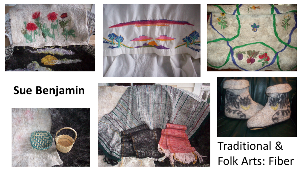 Sue Benjamin Traditional & Folk Arts: Fiber