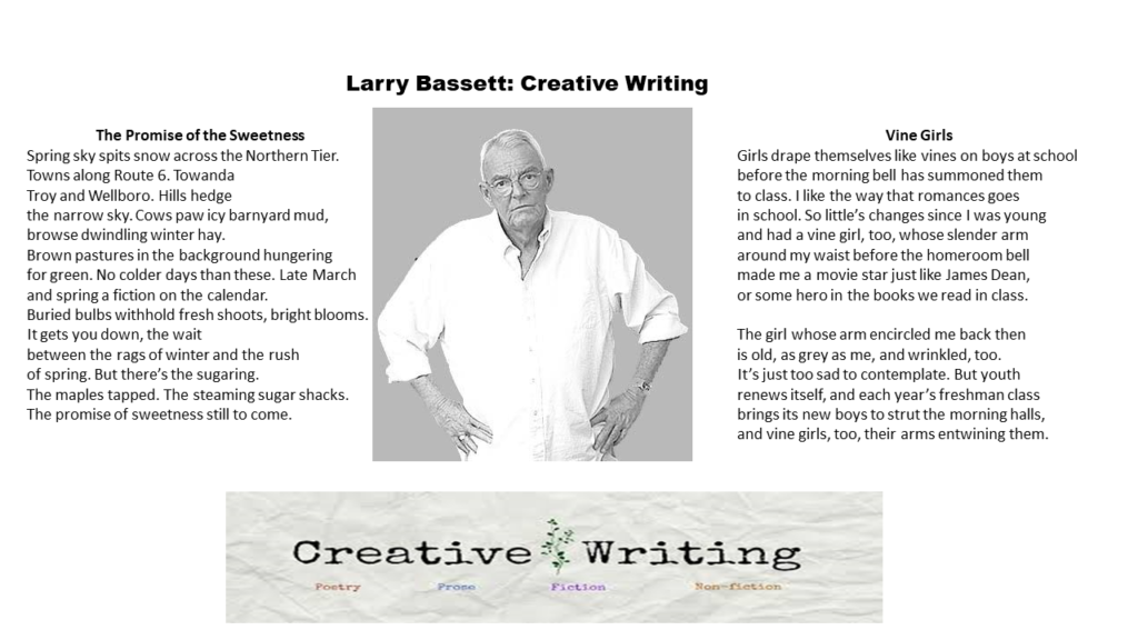 Larry Bassett: Creative Writing