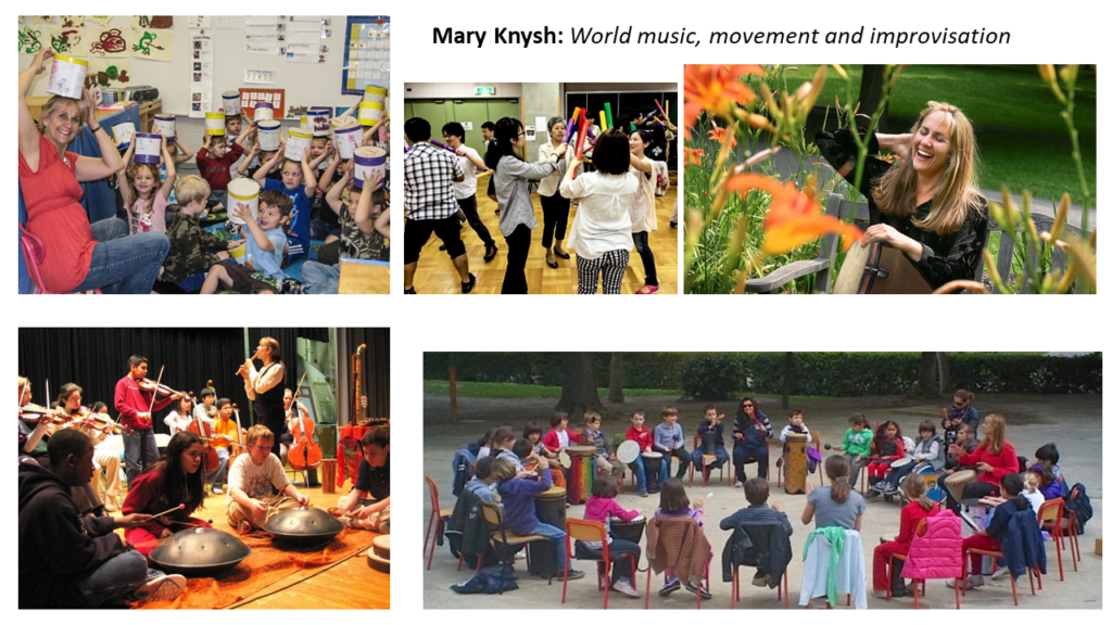 Mary Knysh: World music, movement and improvisation