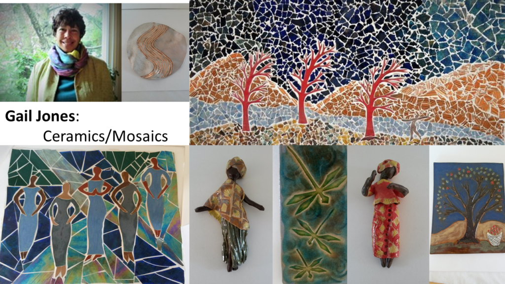 Gail Jones: Ceramics/Mosaics