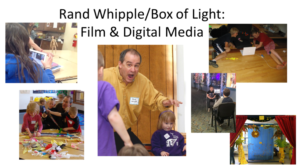 Rand Whipple/Box of Light: Film & Digital Media