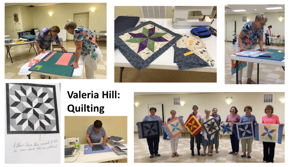 Valeria Hill: Quilting